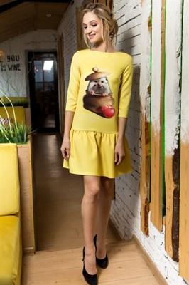 60-02 Платье с ёжиком