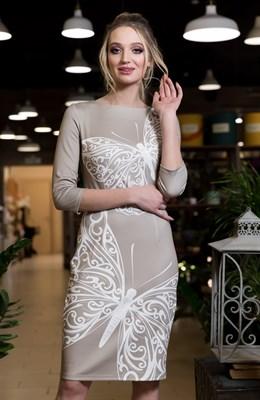 61-06 Платье с бабочками