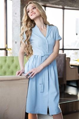 62-01 Голубое платье
