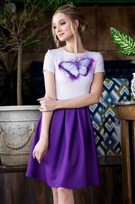 63-08 Платье с бабочкой - фото 6176