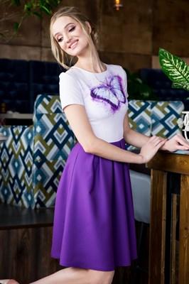 63-08 Платье с бабочкой - фото 6177