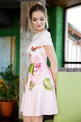 64-06 Платье в горошек - фото 6289