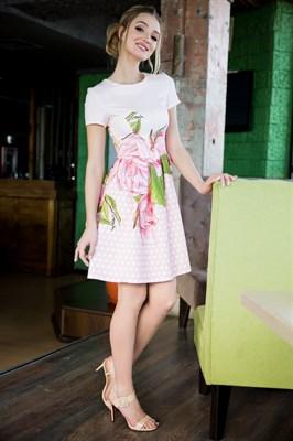 64-06 Платье в горошек - фото 6290