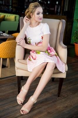 64-06 Платье в горошек - фото 6291