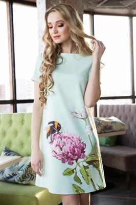 65-08 Платье мятное