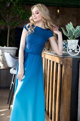 65-03 Платье с градиентом - фото 6381