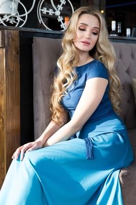 65-03 Платье с градиентом - фото 6383