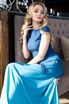 65-03 Платье с градиентом - фото 6385