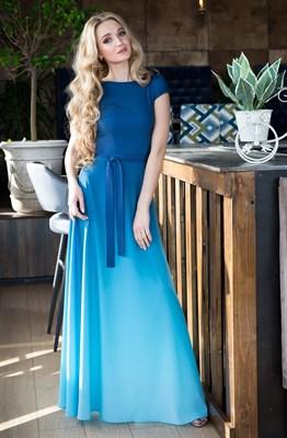 65-03 Платье с градиентом