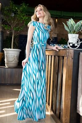 65-01 Длинное платье - фото 6394
