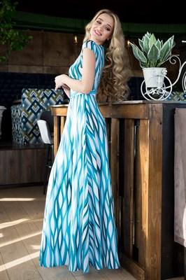 65-01 Длинное платье - фото 6395