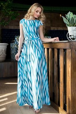 65-01 Длинное платье - фото 6396