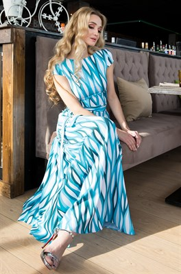 65-01 Длинное платье - фото 6399