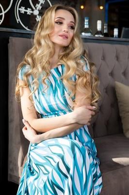 65-01 Длинное платье - фото 6400