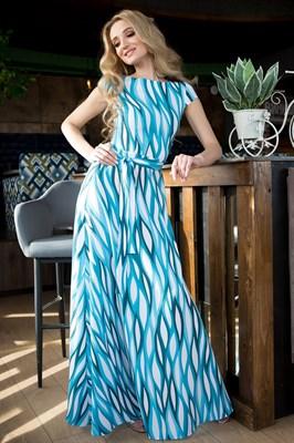65-01 Длинное платье - фото 6401