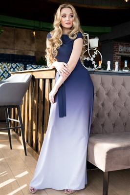 65-02 Платье с градиентом