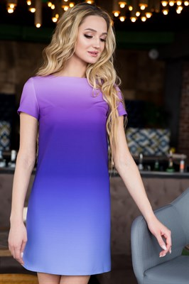 66-11 Платье с градиентом - фото 6462