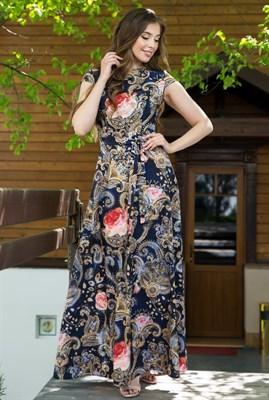 67-04 Длинное платье - фото 6525