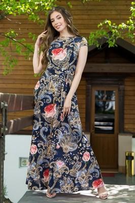 67-04 Длинное платье - фото 6526