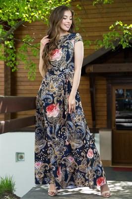 67-04 Длинное платье - фото 6528