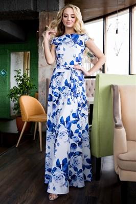 68-18 Длинное платье - фото 6591