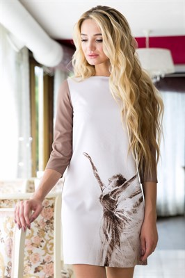 71-05 Платье с балериной