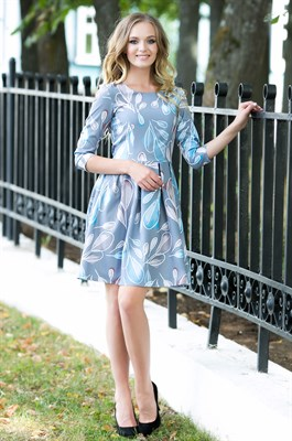 74-09 Платье - фото 7089