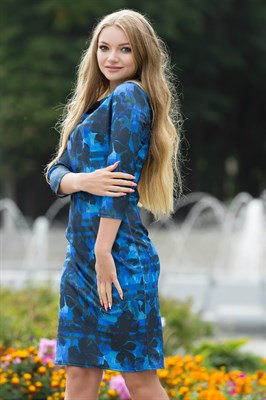 75-08 Платье - фото 7194