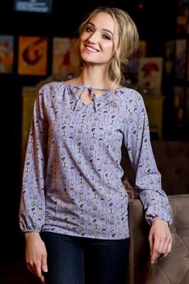52-03 Блуза - фото 7857
