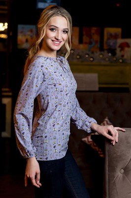 52-03 Блуза - фото 7859