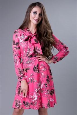 85-03 Платье с бантом - фото 7926