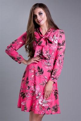 85-03 Платье с бантом - фото 7927