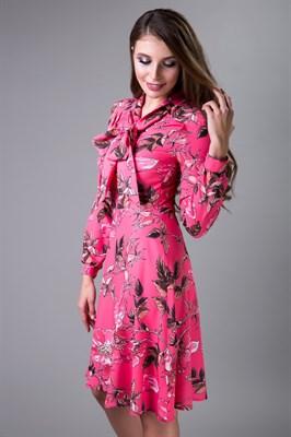 85-03 Платье с бантом - фото 7928