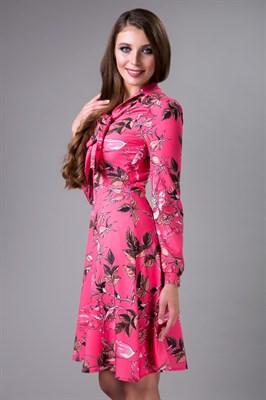 85-03 Платье с бантом - фото 7929