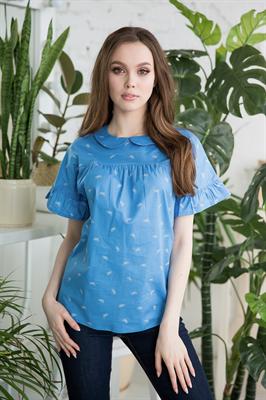 48-16 Блуза из хлопка - фото 8290