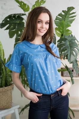 48-16 Блуза из хлопка - фото 8294