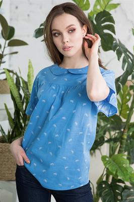 48-16 Блуза из хлопка