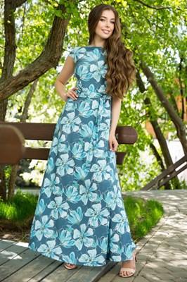 67-07 Длинное платье - фото 8446