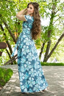 67-07 Длинное платье - фото 8447