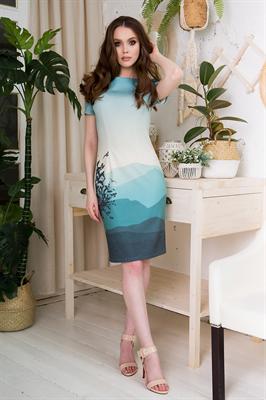 83-02 Платье - фото 8502
