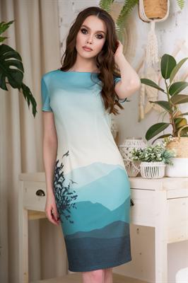 83-02 Платье - фото 8503
