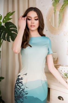 83-02 Платье - фото 8505