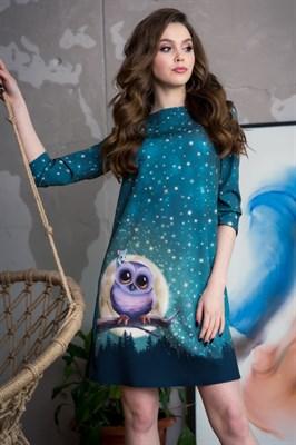 55-18 Платье с совой