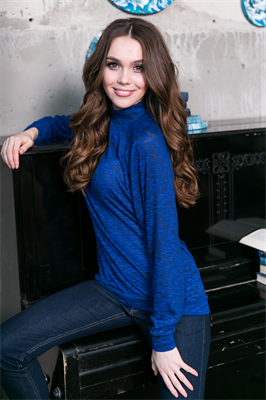 54-09 Блуза из мягкой ткани